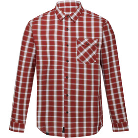 Regatta Lonan Longsleeve Shirt Heren, spiced apple